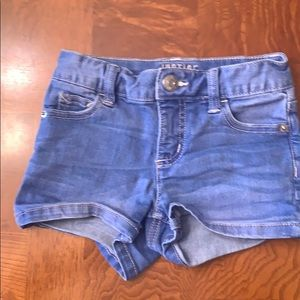 Girls Justice Shortie Jean Shorts